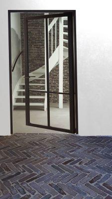 Klinkervloer en klinkermuur Almere
